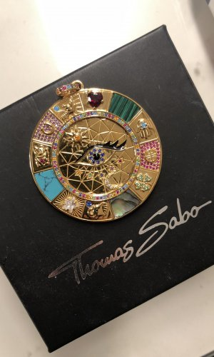 Thomas Sabo Colgante turquesa-menta
