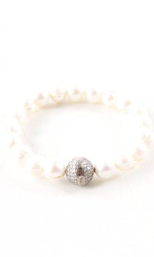 Thomas Sabo Brazalete de perlas blanco puro-color plata look casual