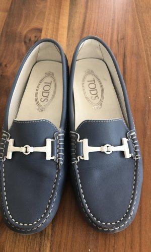 Tod's Zapatos sin cordones blanco-azul claro