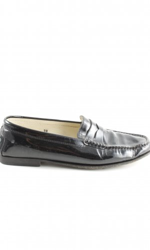 Tod's Moccasins black business style