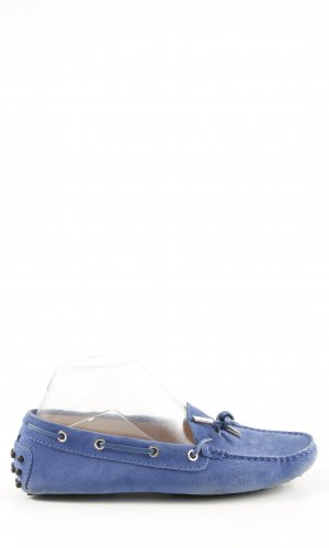 Tod's Moccasins blue street-fashion look