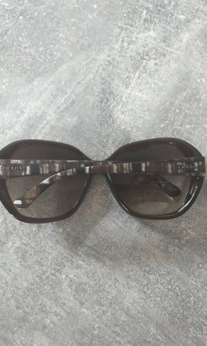 Prada Retro Glasses black brown