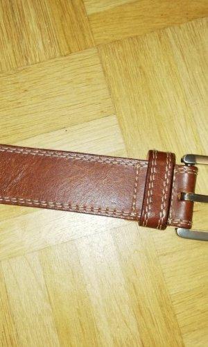 Cinturón de cadena marrón Cuero