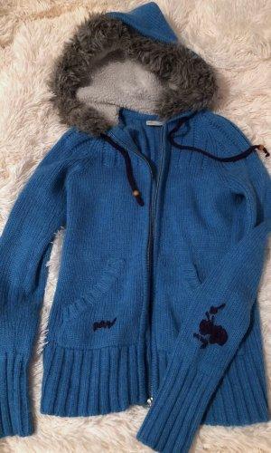 Maui Wowie Sweater met korte mouwen blauw