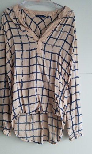 Tom Tailor Lange blouse rosé-blauw