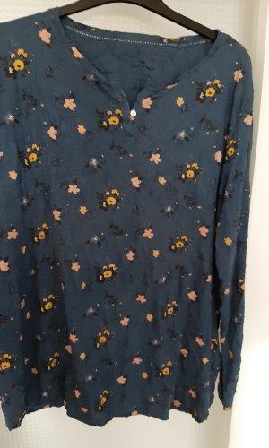 Tom Tailor Lange blouse veelkleurig Gemengd weefsel