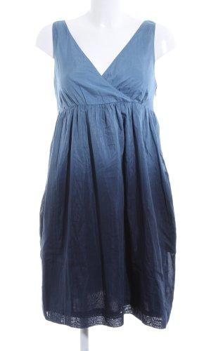 Tommy Hilfiger Robe ballon bleu gradient de couleur élégant