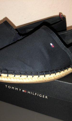 Tommy Hilfiger Zapatos sin cordones azul oscuro-beige