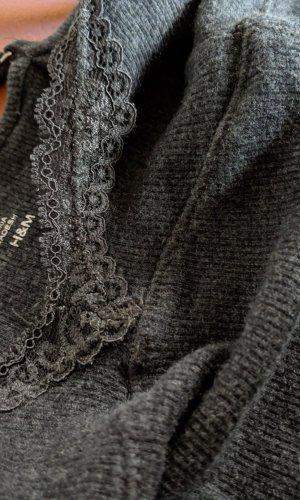 H&M Kanten topje veelkleurig