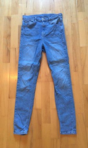 Topshop High Waist Jeans blue