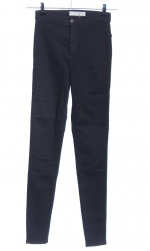 Topshop High Waist Trousers blue casual look