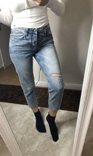 Topshop Boyfriend Jeans blue
