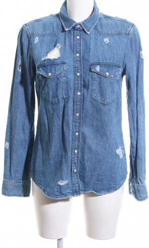Topshop Denim Shirt blue casual look