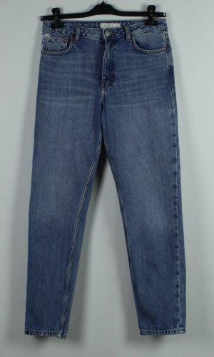Topshop Boyfriend Jeans blue cotton
