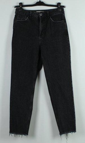 Topshop Boyfriend Jeans anthracite cotton