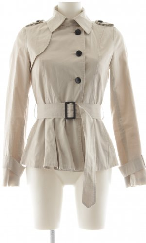 Topshop Parka cream business style