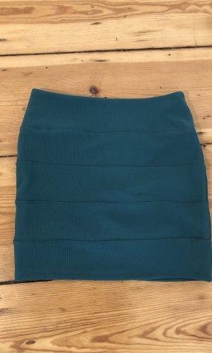 Topshop Stretch Skirt petrol