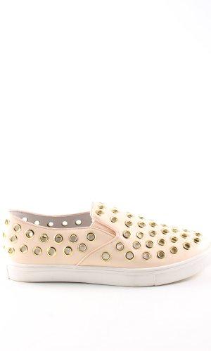 Topshop Slip-on Sneakers cream casual look