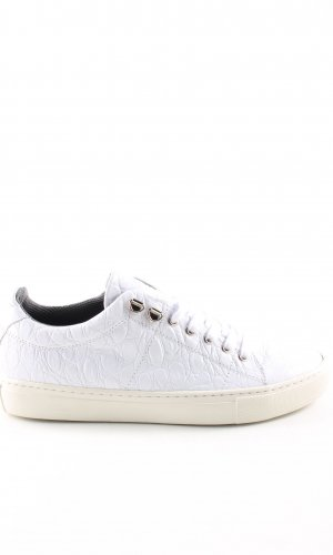 Topshop Lace-Up Sneaker white casual look