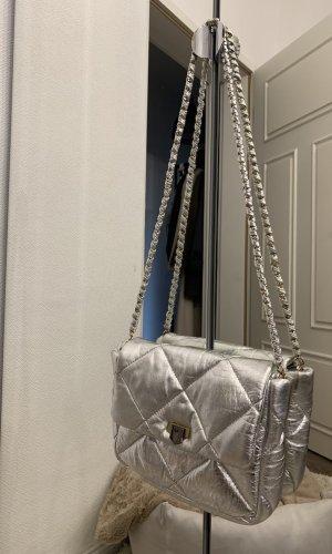 Topshop Shoulder Bag silver-colored-gold-colored