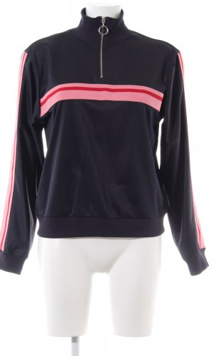 Topshop Sweat Shirt striped pattern casual look