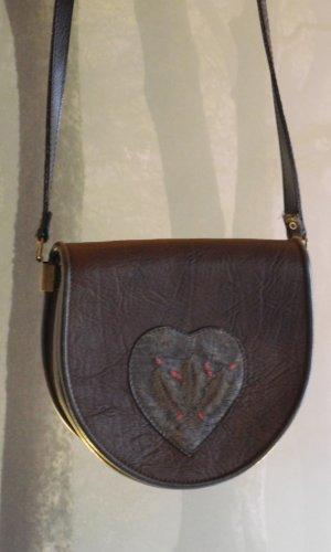 Traditional Bag dark brown-dark green