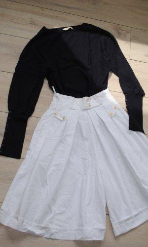 Jupes-culottes blanc cassé-blanc