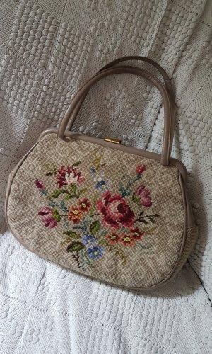 Traditional Bag beige-purple