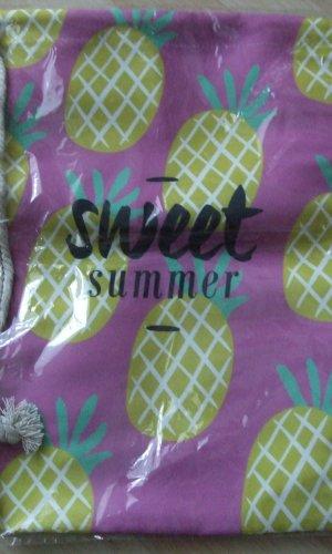 Pink Pearl Sports Bag violet textile fiber