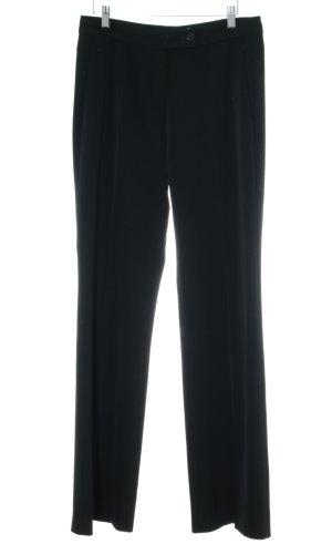 Turnover Anzughose schwarz Elegant