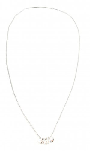 Necklace light grey business style