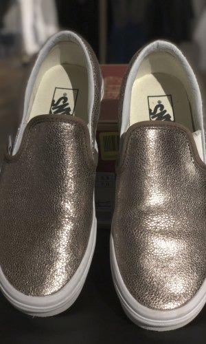 VANS Classic Slip-On Gr. 37 Metallic Bronze