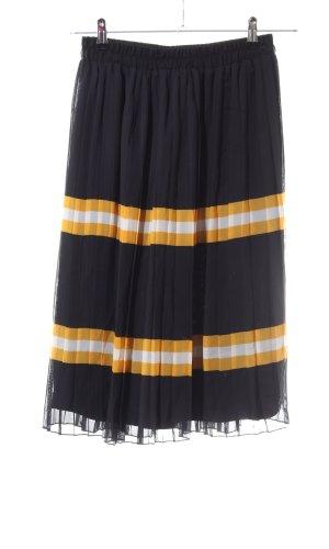 Vero Moda Jupe à plis motif rayé style d'affaires