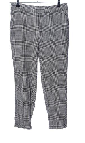 Vero Moda Pantalón elástico gris claro-negro estampado a cuadros look casual