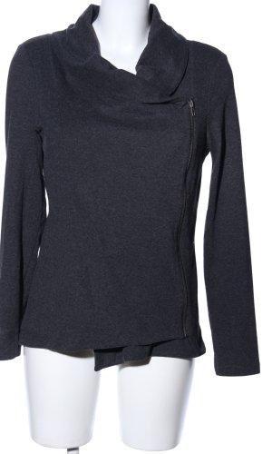 Vero Moda Veste sweat gris clair moucheté style d'affaires