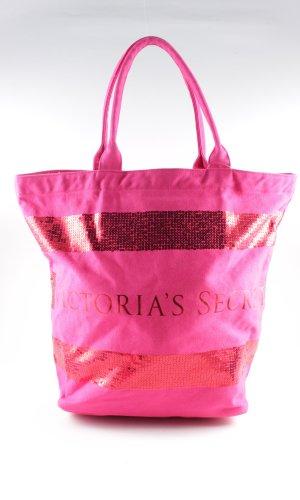 Victoria's Secret Comprador rosa letras impresas look casual