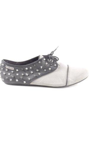 Volcom Zapatos estilo Richelieu gris claro-negro look casual