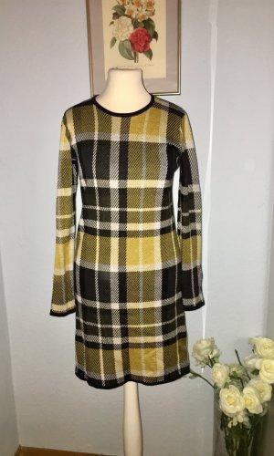 Warehouse Sweaterjurk zwart-goud Oranje