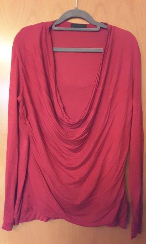 Sônia Bogner Waterval shirt donkerrood-neonrood