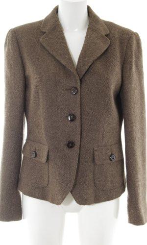 Weekend Max Mara Wollen blazer bruin-brons gestippeld zakelijke stijl