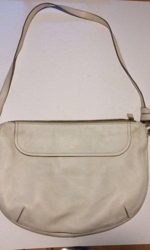 Weiße Furla Hobo Bag aus Leder