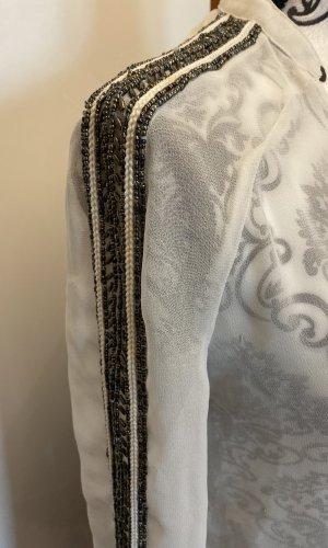 Zara Lange blouse wit