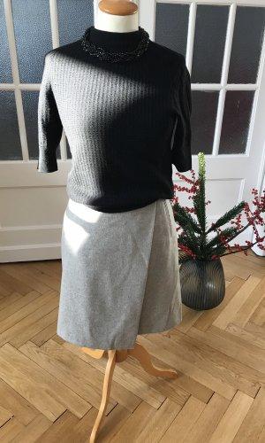 Gant Wollen rok lichtgrijs