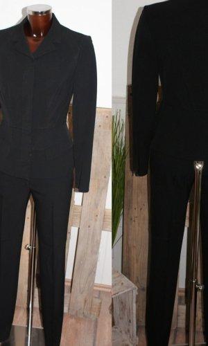 Prada Traje de pantalón negro lana de esquila