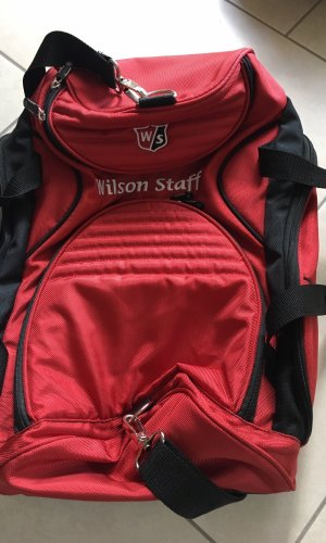 Wilson Sports Bag brick red
