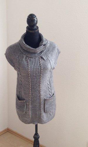 Sweaterjurk grijs