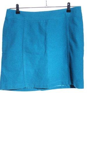 Wollen rok blauw casual uitstraling