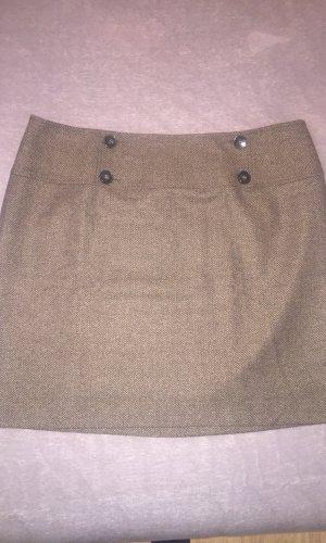 Montego Wollen rok grijs-bruin