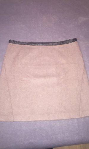 s.Oliver Wollen rok grijs-bruin