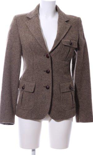Woolrich Wollen blazer bruin Scheerwol